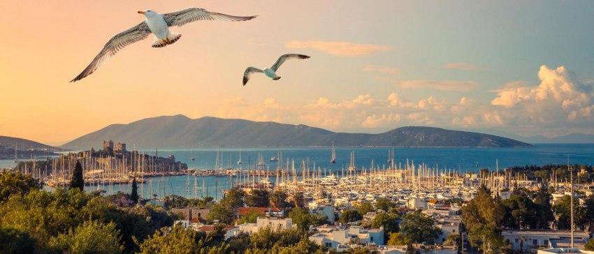Бодрум - Лято 2018 Комбинирана програма с 9 нощувки - тръгване със самолет от София, връщане с автобус